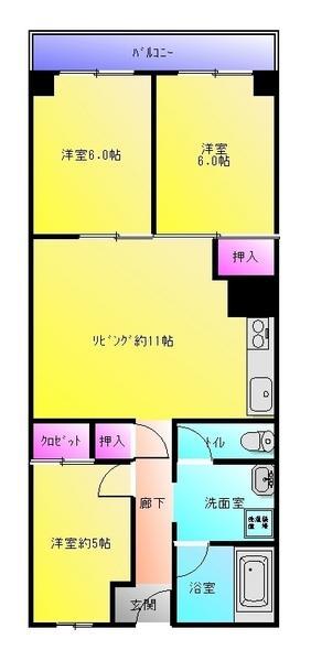 リフォーム完了☆(間取)
