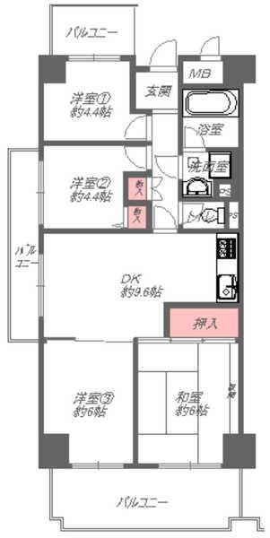 4LDK(間取)