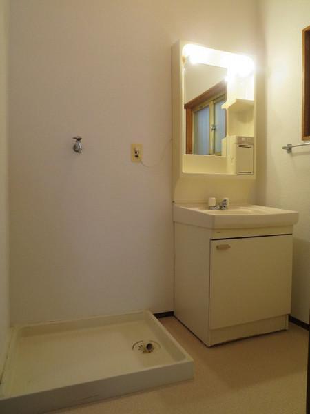 洗面脱衣所です