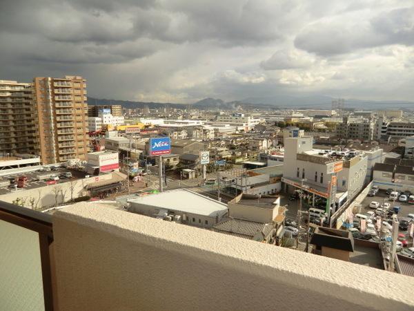 ベランダからの眺望(イメージです)