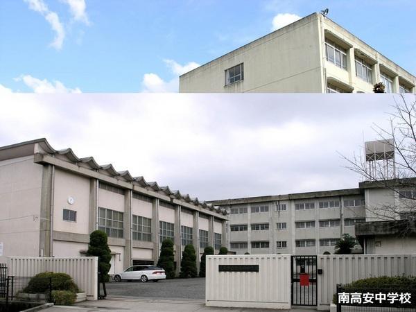 ■南高安中学校■791m